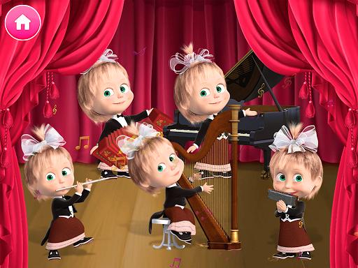 Masha and the Bear. Games & Activities screenshots 2