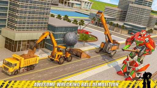 construction & demolish robot: robot games screenshot 3