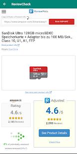 ReviewCheck - Spot Fake Reviews 2.6 APK screenshots 2