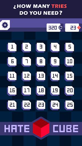 World's Hardest Game: HATE CUBE 1.4 screenshots 2