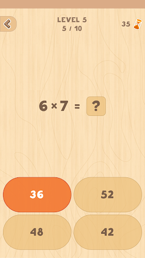 Multiplication table. Learn and Play! 1.2 Screenshots 4
