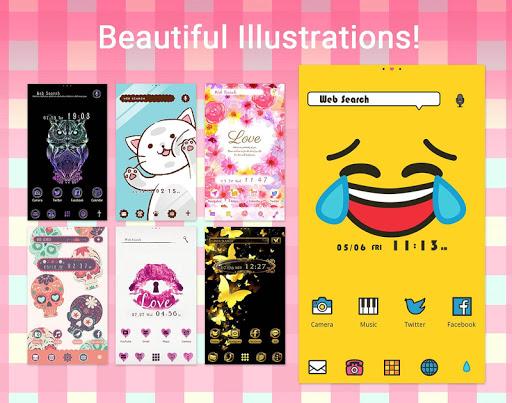Wallpaper Theme +HOME Launcher 3.9.60 Screenshots 3