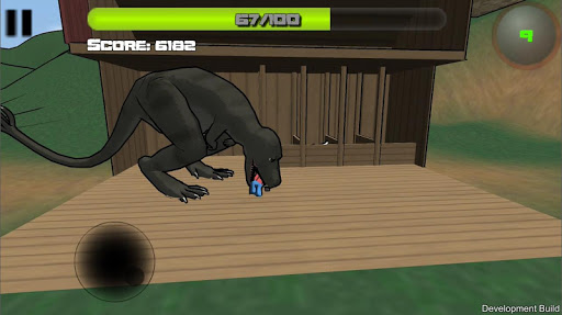 Attack of the Giant Mutant Lizard  screenshots 6