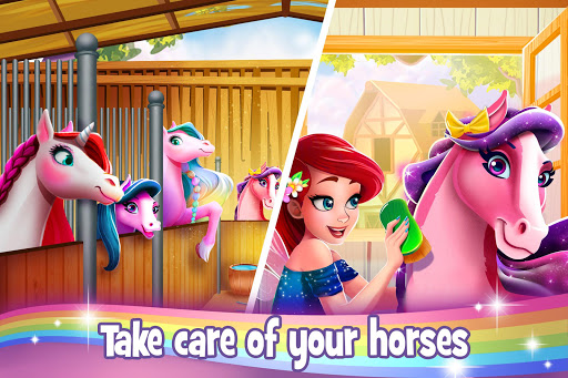 Download Tooth Fairy Horse - Caring Pony Beauty Adventure mod apk 2