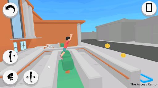 Flip Out - Parkour Backflip Simulator  screenshots 1