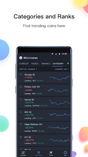 BitUniverse - Crypto Portfolio & Grid Trading Bot 2.10.5 Screenshots 4