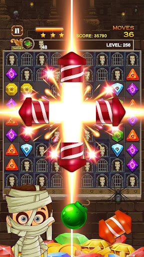 Jewel Ancient: find treasure in Pyramid 2.6.2 screenshots 23