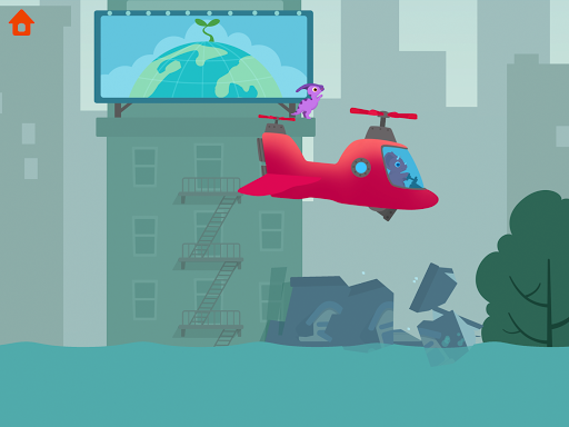 Dinosaur Helicopter - Games for kids  screenshots 9