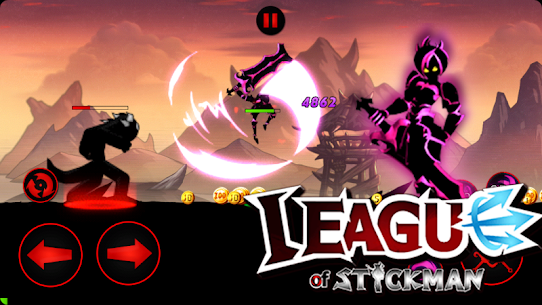 League of Stickman 2020 Mod Apk (Free Shopping) 4