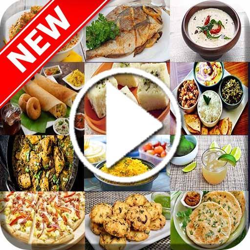 Food Recipes Videos App - 2020 Step by Step
