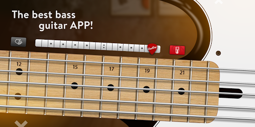 REAL BASS: Electric bass guitar free  screenshots 1