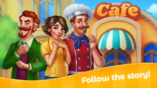Grand Cafe Story MOD APK 2.0.25 (Money/Live) 4