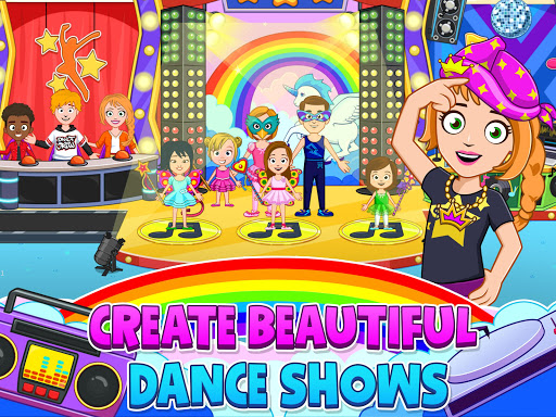 My Town : Dance School. Girls Pretend Dress Up Fun 1.28 Screenshots 13