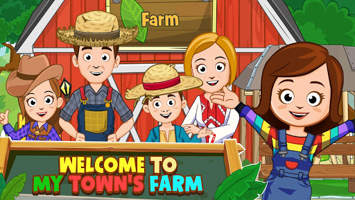 My Town : Farm Life Animals Game  for Kids Free 1.07 screenshots 10