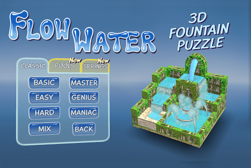 Flow Water Fountain 3D Puzzle 1.2 apktcs 1