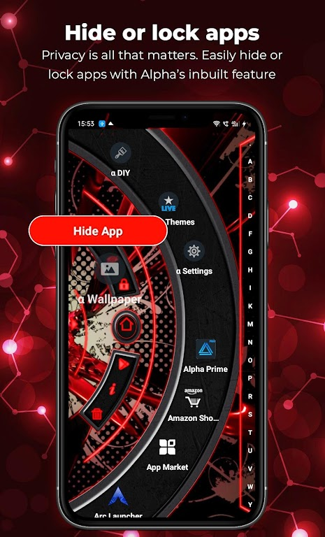 Alpha Launcher Prime💎 Wallpaper,DIY,Themes,Fast  poster 2