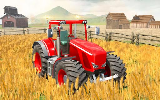 Modern Tractor Farming Simulator: Offline Games apktram screenshots 2