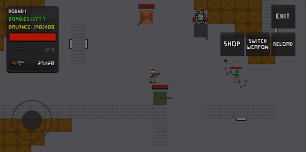 Pixel Zombie Survival 4