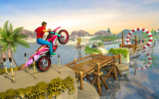 Impossible Bike Track Stunt Games 2021: Free Games 2.0.02 screenshots 4