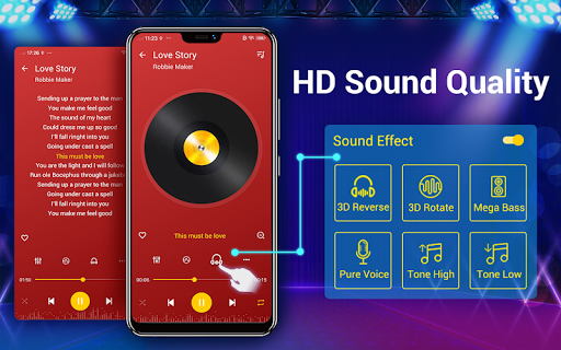 Music Player - 10 Bands Equalizer Audio Player 1.6.3 Screenshots 10