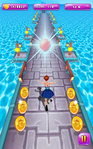 Royal Princess Island Run - Princess Runner Games 4.0 screenshots 8