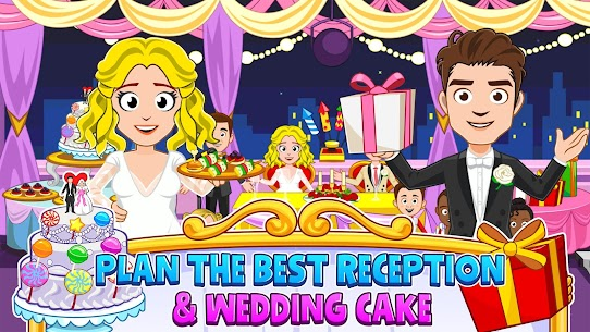 My Town : Wedding Bride Game for Girls Free (MOD, Unlimited Money) For Android 5
