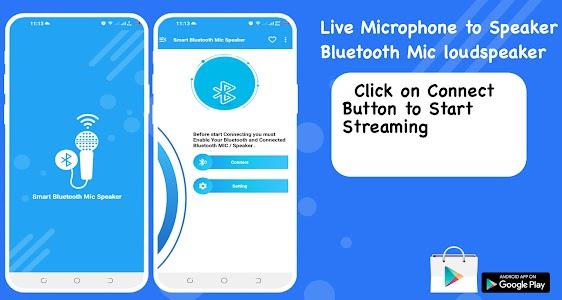 Live Microphone to Speaker: Bluetooth loudspeaker 1.4
