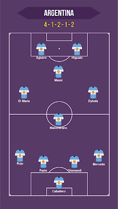 Football Squad Builder : Build your own lineup 11のおすすめ画像1