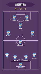 Football Squad Builder - Strategy, Tactic, Lineup 2.6.7 Screenshots 1