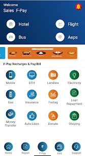 F – Pay-Recharge,Bill Payment,Aeps & Wallet UPI 1.32 APK + MOD (Unlocked) 2