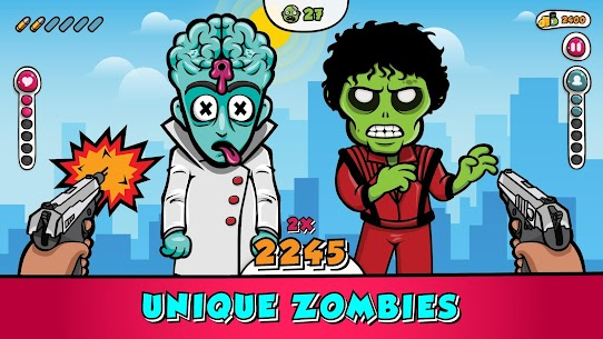 Guns & Zombies : Tap and Shoot Game Hack & Cheats 1