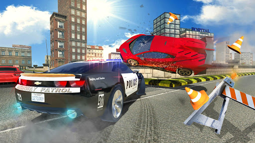 police car chase : hot pursuit screenshot 3