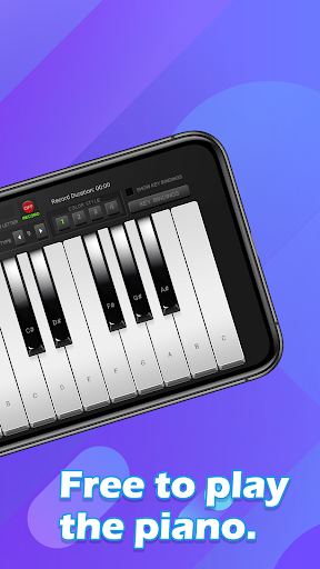 Piano Keyboard - Free Simply Music Band Apps 1.3 Screenshots 2