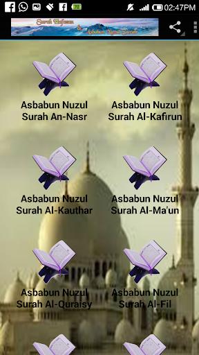 Surah Hafazan & Asbabun Nuzul For PC Windows (7, 8, 10, 10X) & Mac Computer Image Number- 7