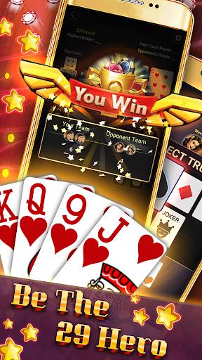 29 Card Game ( twenty nine ) Offline 2020 5.32 screenshots 3