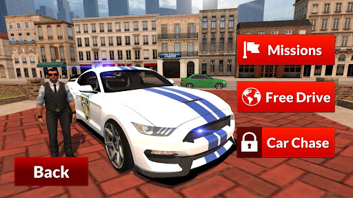 Mustang Police Car Driving Game 2021 1 screenshots 8