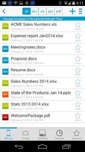 Foto do Docs To Go™ Free Office Suite