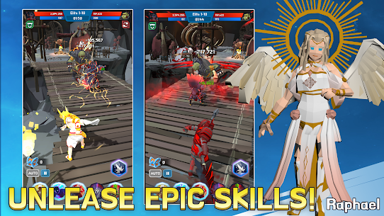Epic Sword Quest MOD Apk (God Mode) Download 4