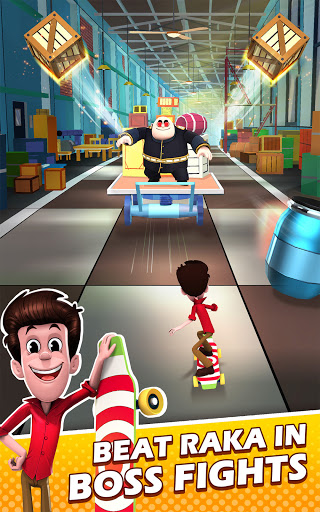 Smaashhing Simmba - Skateboard Rush android2mod screenshots 21