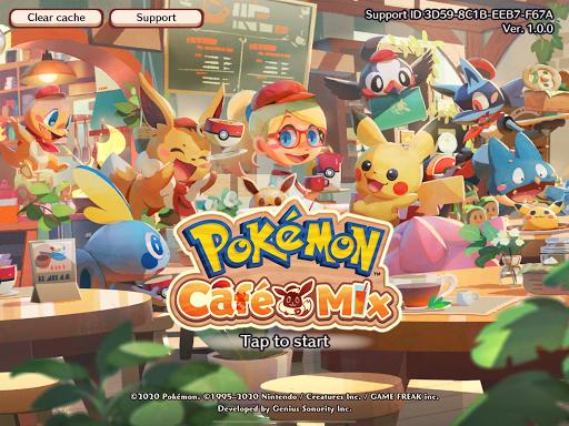 Poku00e9mon Cafu00e9 Mix  screenshots 12
