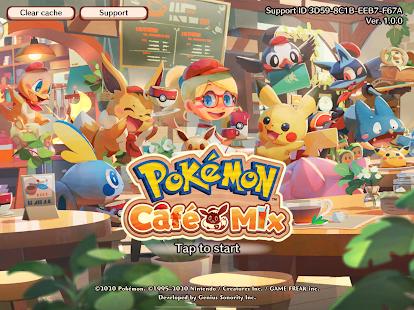 Poku00e9mon Cafu00e9 Mix 1.100.1 Screenshots 8