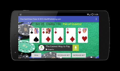 Five Card Draw Poker 1.20 screenshots 6