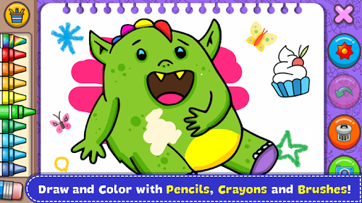 Fantasy - Coloring Book & Games for Kids  screenshots 1