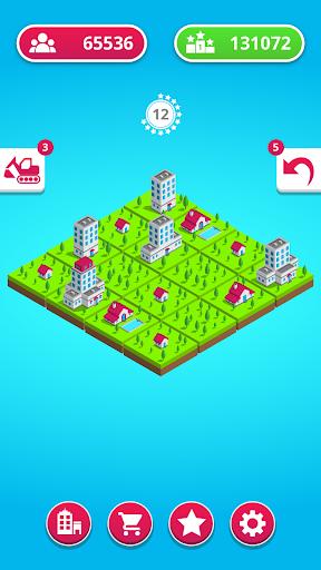 town merge: 2048 city builder screenshot 3