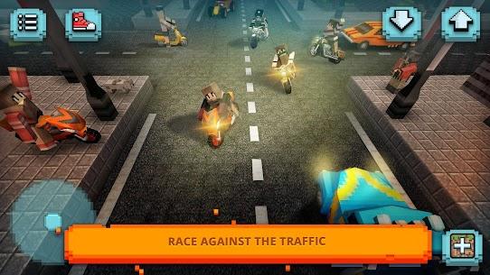 Motorcycle Racing Craft: Moto Games  amp; Building 3D Apk Download 1