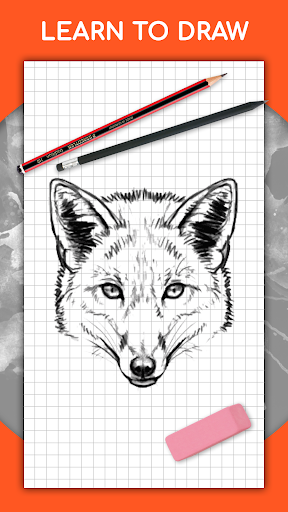 How to draw animals. Step by step drawing lessons 1.4.1 Paidproapk.com 1