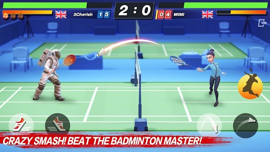 Badminton Blitz – Free PVP Online Sports Game Apk Mod + OBB/Data for Android. 10