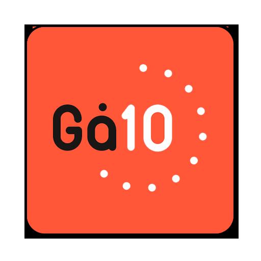Gå 10 icon