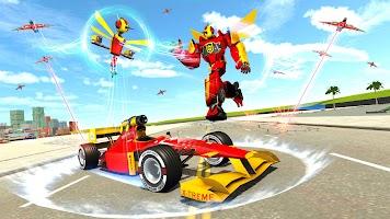 Dragon Fly Robot Car Transform