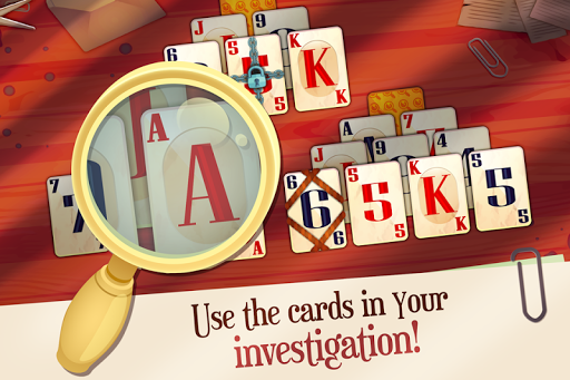 Solitaire Detectives - Crime Solving Card Game 1.3.1 screenshots 2